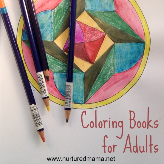 Coloring books for adults are the new way to relax and unwind. :: www.nurturedmama.net