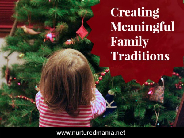 What holiday traditions do you practice in your family? Are they purposeful or do you do them out of habit? Click through to learn how to build deeply meaningful holiday traditions for your family.