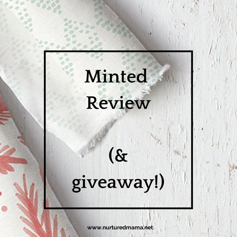 Minted crowdsources beautiful designs and produces what their users vote on. The result is stunning cards, invitations and party decor that connects independent artists with discerning customers. This review gives an overview of the products available and includes a $50 shop credit giveaway! :: www.nurturedmama.net