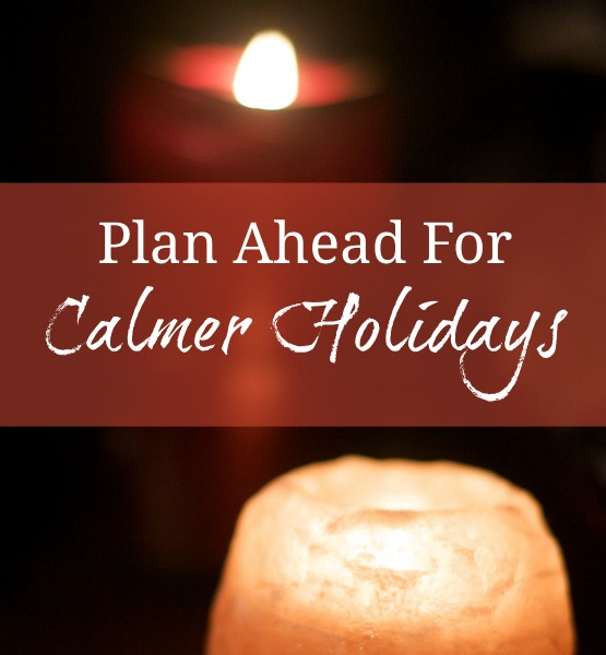 A little planning now will give you more space, joy, and relaxation around the holidays. Click over for tips on scheduling, managing holiday mail, and more. :: www.nurturedmama.net