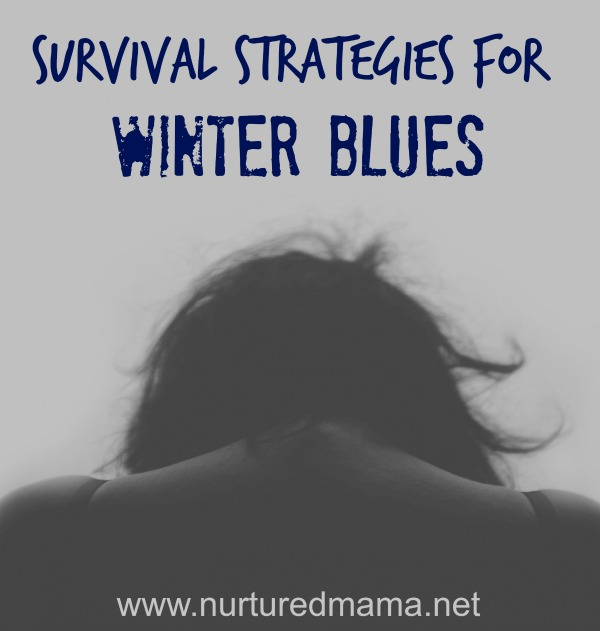 Winter Blues are rough, but there are some straightforward things you can do to help yourself cope and even feel good in the winter. :: www.nurturedmama.net