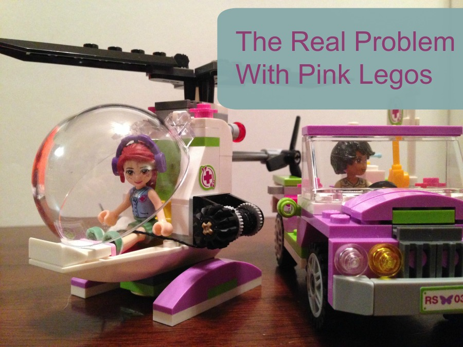 Pink Legos are controversial. Are they bad for girls, or good for them? Are they insulting and limiting, or a great invitation to STEM-related play? I have an opinion about the problem with pink Legos, and it might not be quite what you'd guess...