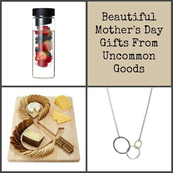 The Uncommon Goods Mother's Day collection has some really nice picks for the mom in your life. :: www.nurturedmama.net