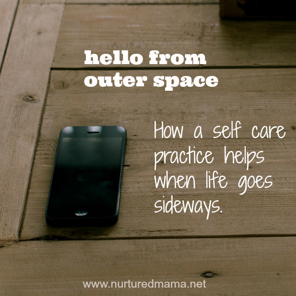 How a daily self care practice might save you when big changes or grief hit in your life.
