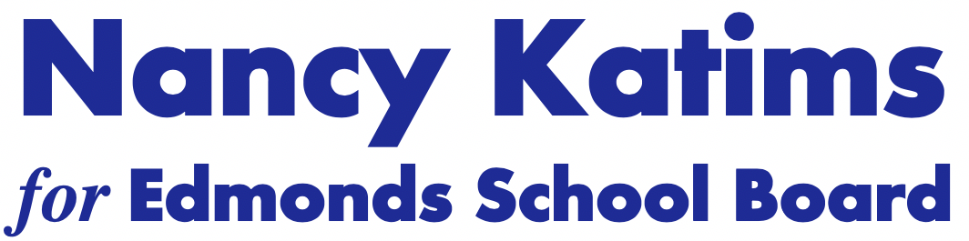 Nancy Katims for Edmonds School Board