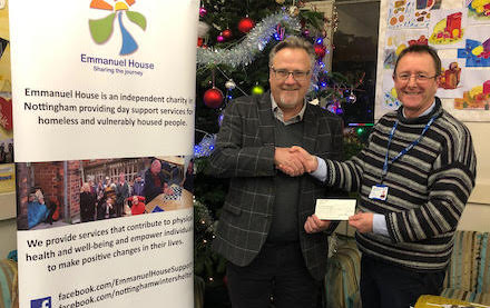 Festive support for Emmanuel House
