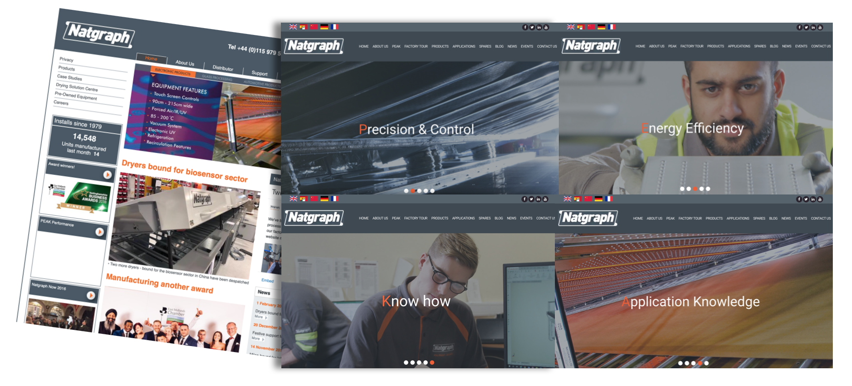 We're Live With Our New Website