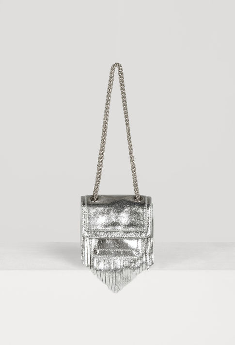 Claudie Pierlot metallic bag WITH fringing 😍 £209