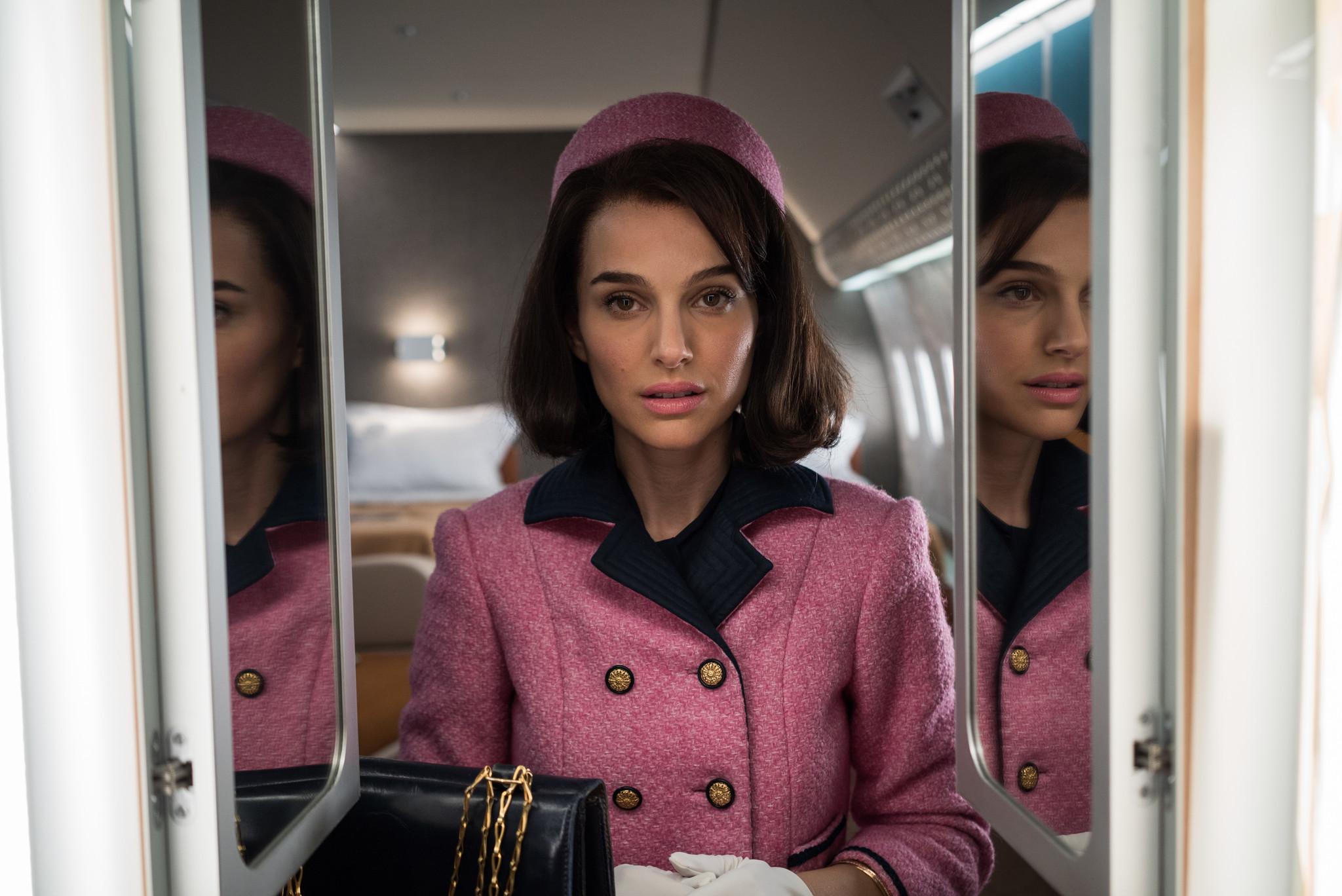 Natalie Portman as Jackie Onassis in Jackie