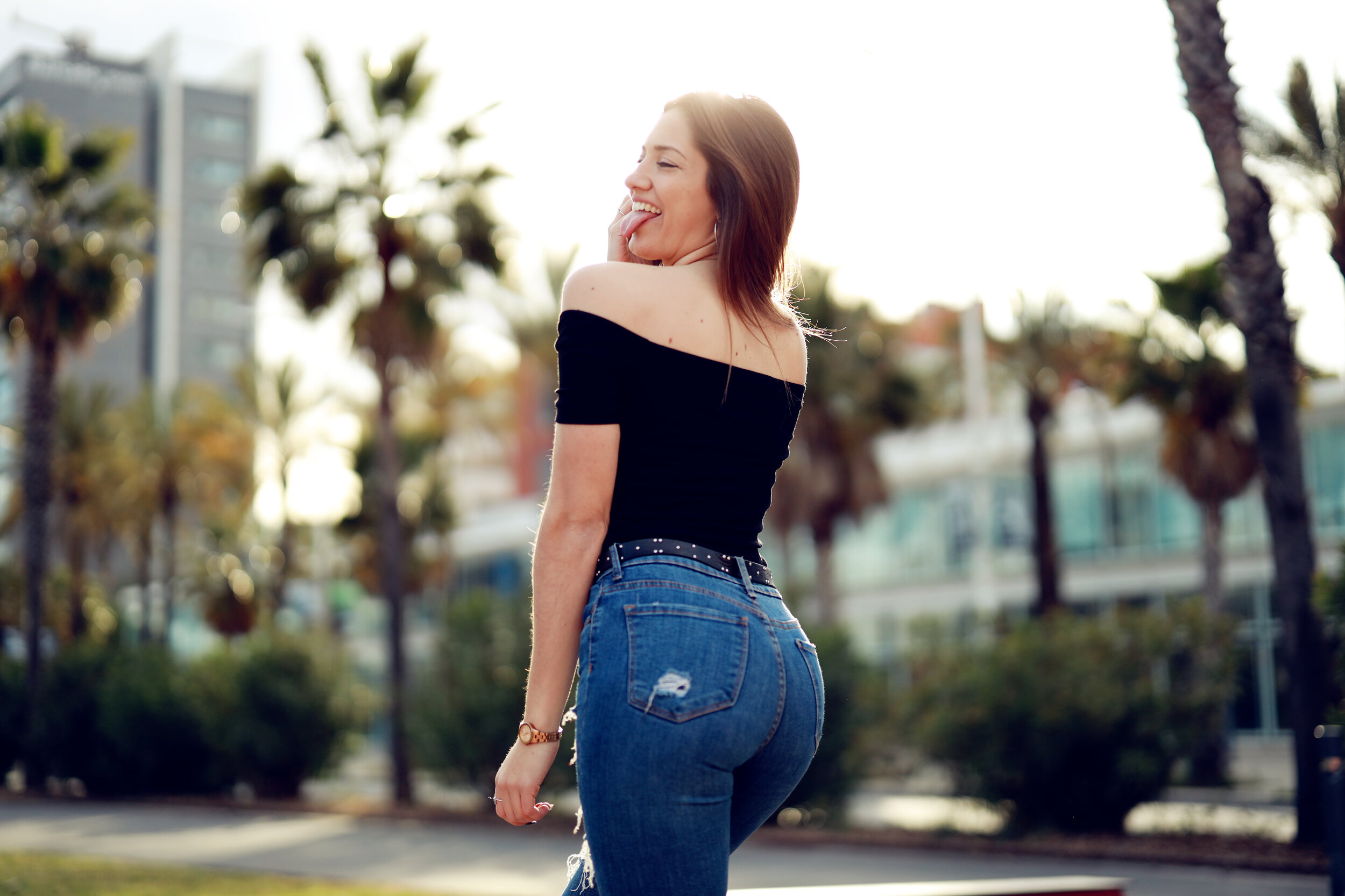 Chick With Nice Ass