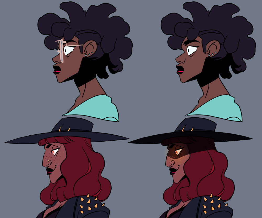 Profile and Color Palette Test