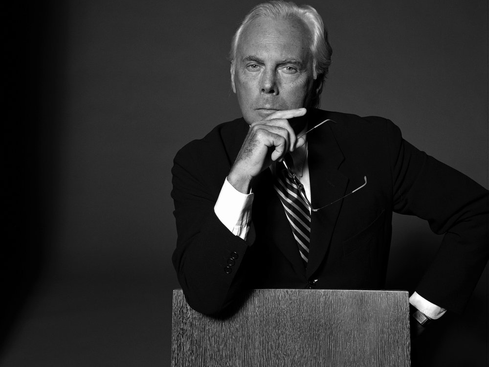 """""""Technological progress made over the years allows us to have valid alternatives at our disposition that render the use of cruel practices unnecessary as regards animals."""" - - Giorgio Armani (source)"""