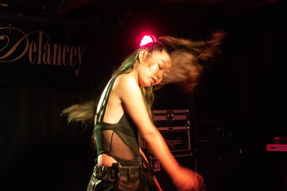 SUMI at the Delancey. photo by glamglare