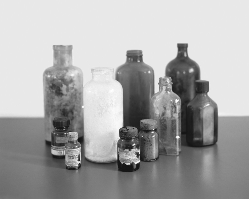 Objects of interest: medical testing bottles from The Henry Ford Hospital, May, 2014, Belterra, Pará, Brazil. 2014/2018