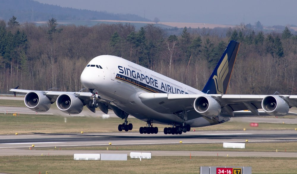 Photo:  Airbus A380 taking a flight