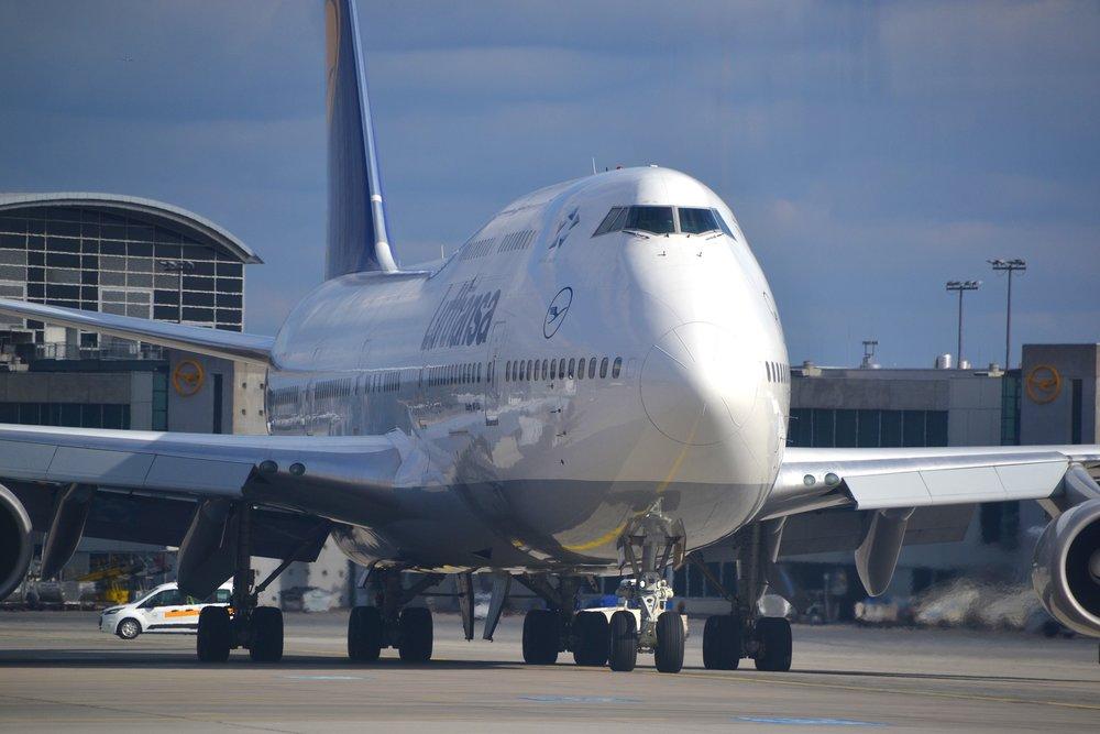 Photo:  Boeing 747 (Jumbo Jet) on taxi