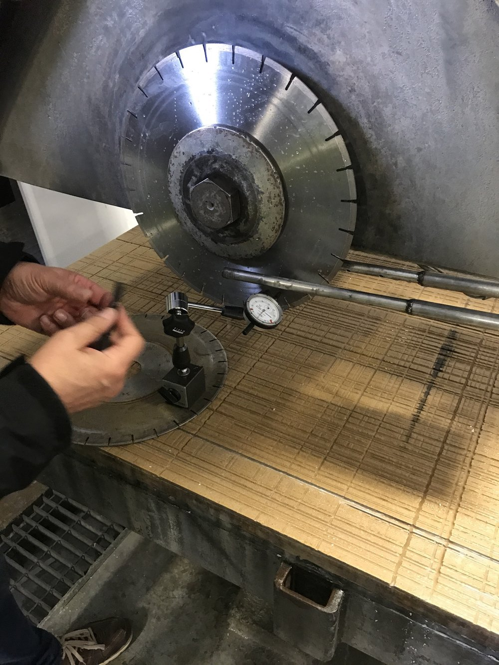 SPINDLE RE-ALIGNMENT