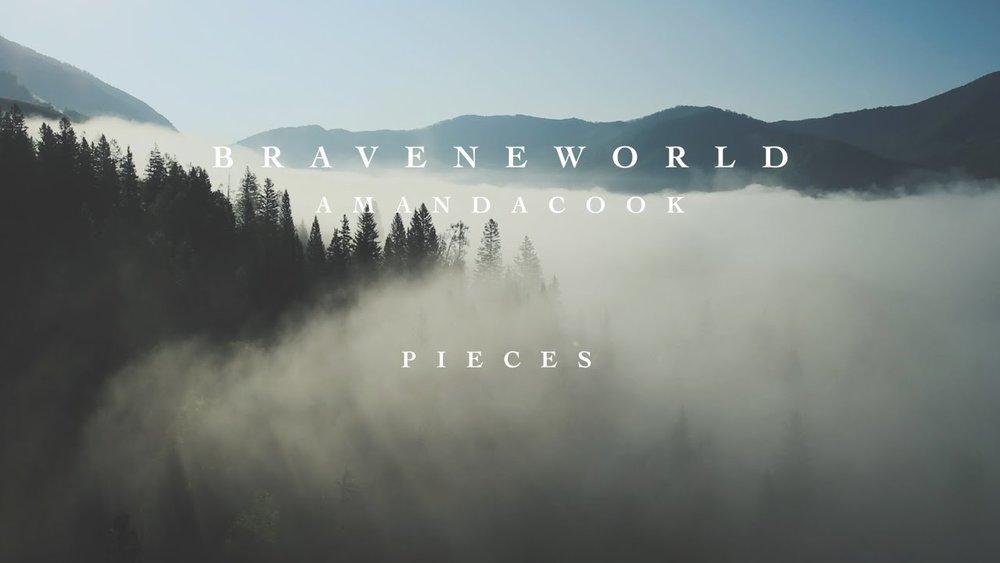 "Album art for the original song ""Pieces"" by Amanda Cook"