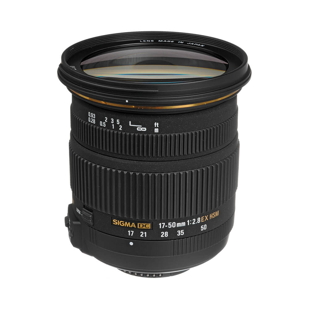 Sigma 17-50mm f/2.8 - This is my newest lens and I got it for outdoor portraits and all-round shooting. The low f-stop gives shallow depth of field (great for portraits) and the vibration reduction is top notch!