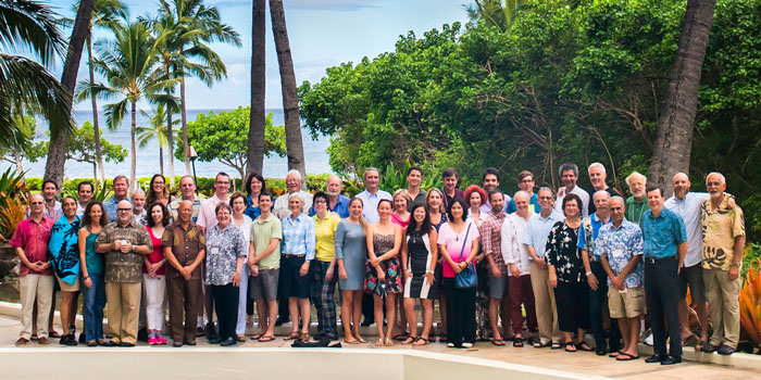 Members of the International Project on Conflict and Complexity at the 2014 Dynamical Systems Theory Innovation Lab in Hawaii.