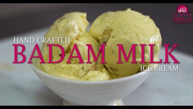 Ever wondered how our BADAM MILK 🍨 is made? 😋😋😋 . . . . . #icecream #yummy #icecreamlove #icecreams #yum #foodie #dessert #desserts #atlantafood #atlantafoodies #atlfood #atlantafoodie #foodies #vanilla #delicious #creamy #foody #foodstagram #desserttable #indianfood #indiandesserts #desifood #milky #almond