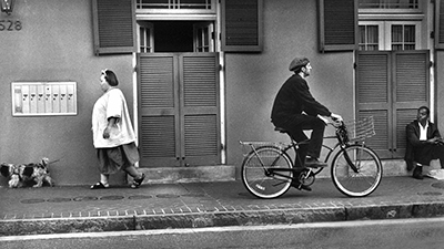"""""""French Quarter"""" is Langley Anderson's """"all-time"""" favorite piece. It is a silver gelatin print."""