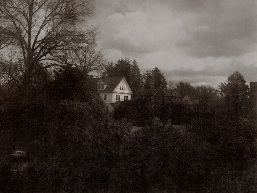 """Prospect Avenue No. 1"" a Direct-to-plate photopolymer gravure by L.S. King"