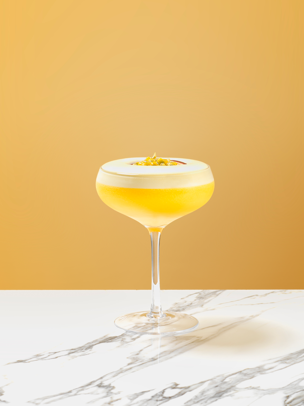 Passion Fruit Martini - AKA the Pornstar Martini. Currently the UK's leading pop cocktail.