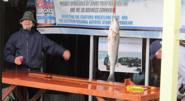 """Striped Bass Derby - 20189 marks our 23rd annual Striped Bass Fishing Derby. Held at the end of each October, this event has raised more then $500,000 to date to benefit local organizations. This three-day event draws fishermen and women alike from up and down the East Coast all in search of the illusive """"big one"""".This year's recipient is Coastal Volunteers in Medicine.This years tournament with be October 26th - October 28th."""