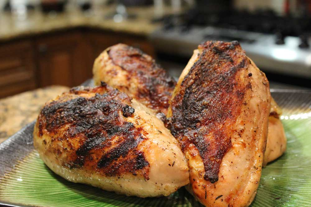 Grilled Split Chicken Breast Eat Drink Bake With Andrea