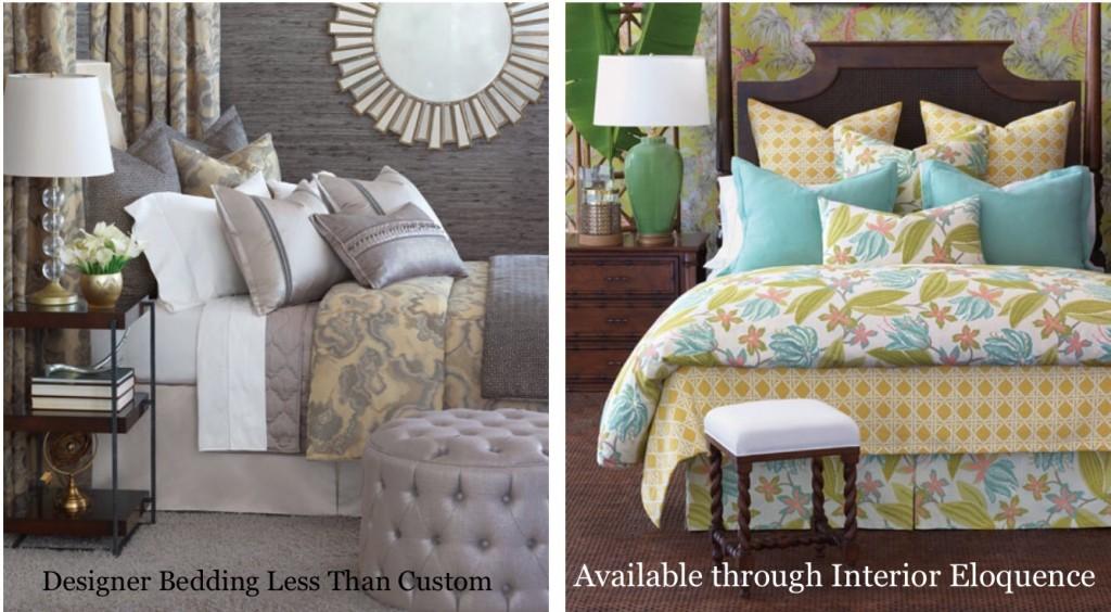 Designer Bedding, Less Than You Think.