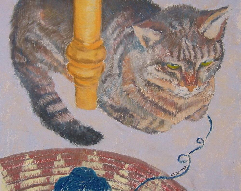 Emma, beloved cat