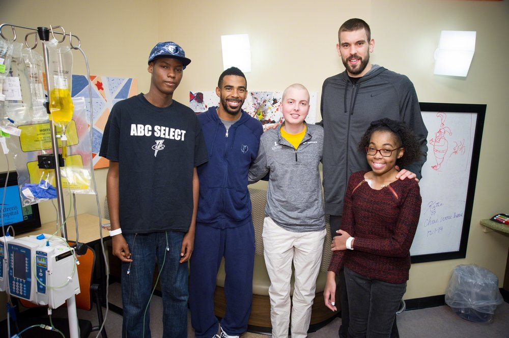 NBA Cares, The memphis Grizzlies & St. Jude -