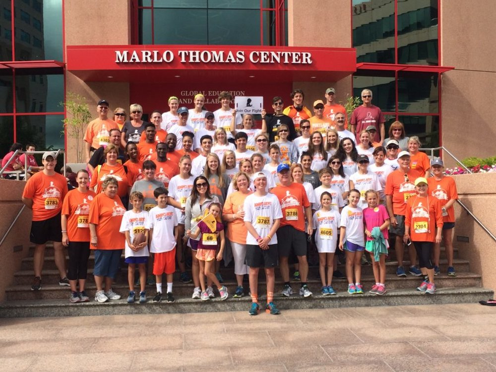 St. Jude Walk/Run to end childhood cancer -