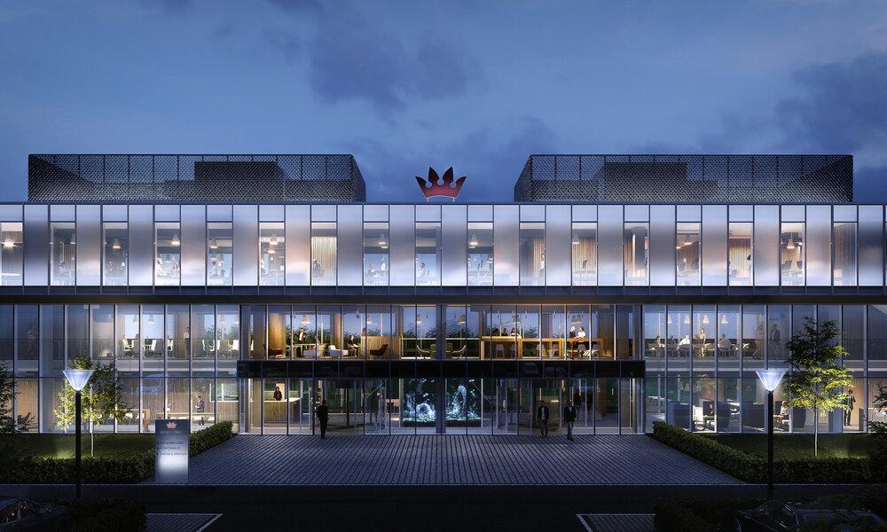 Office by Aarstiderne Arkitekter + Sweco