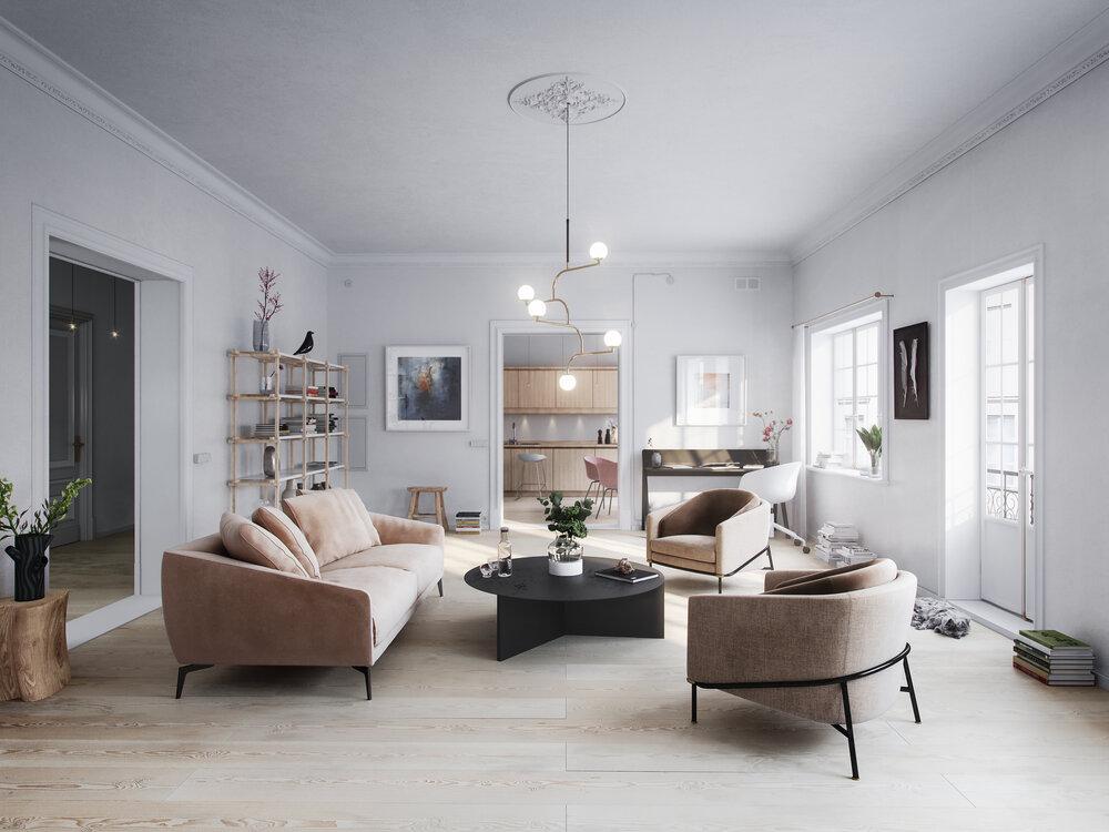 Nordic Living - Living Room