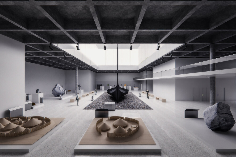 New Viking Museum in Norway by Simon Malm & Audun Andresen