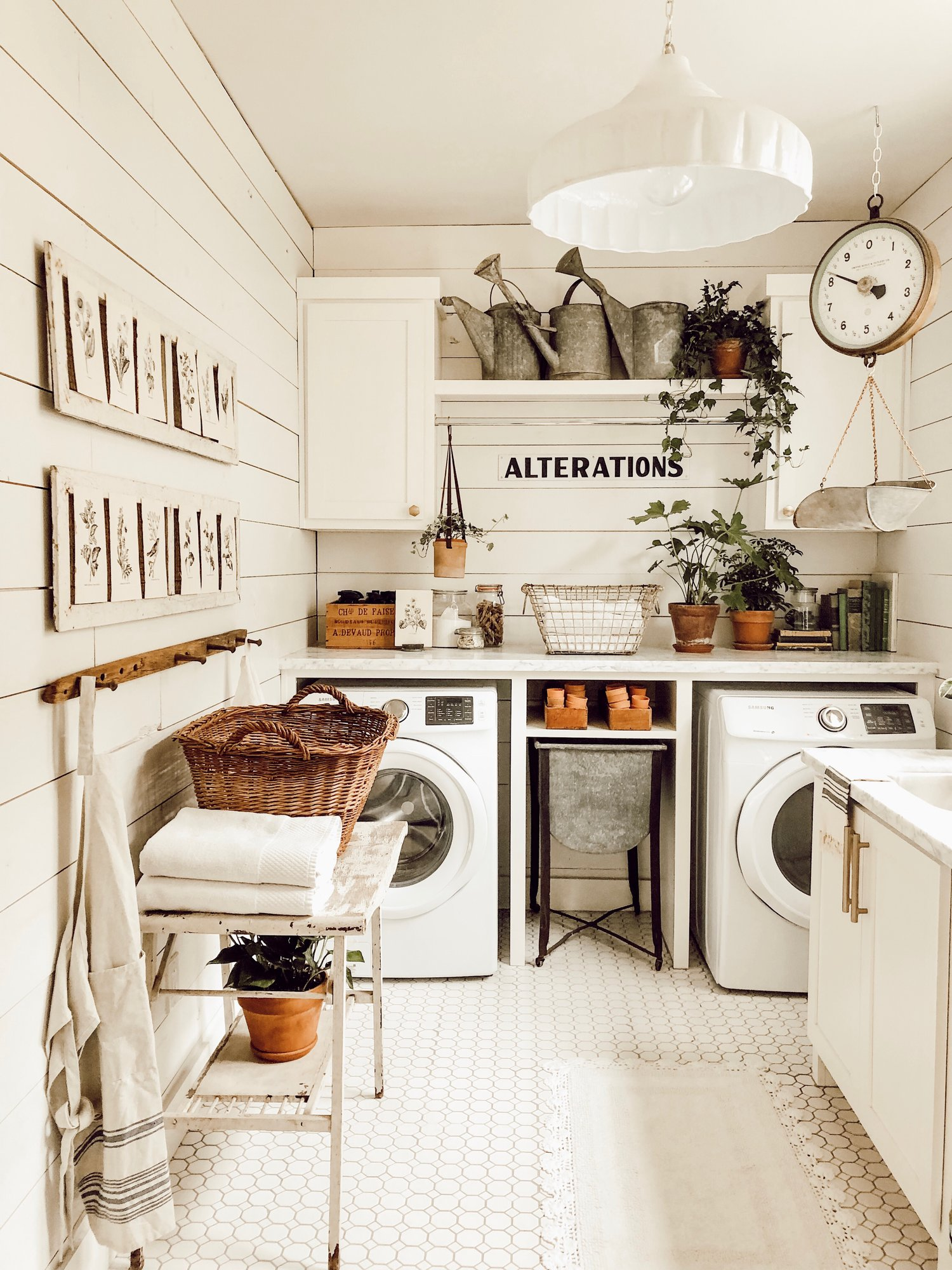 Farmhouse Laundry Room Whitetail Farmhouse