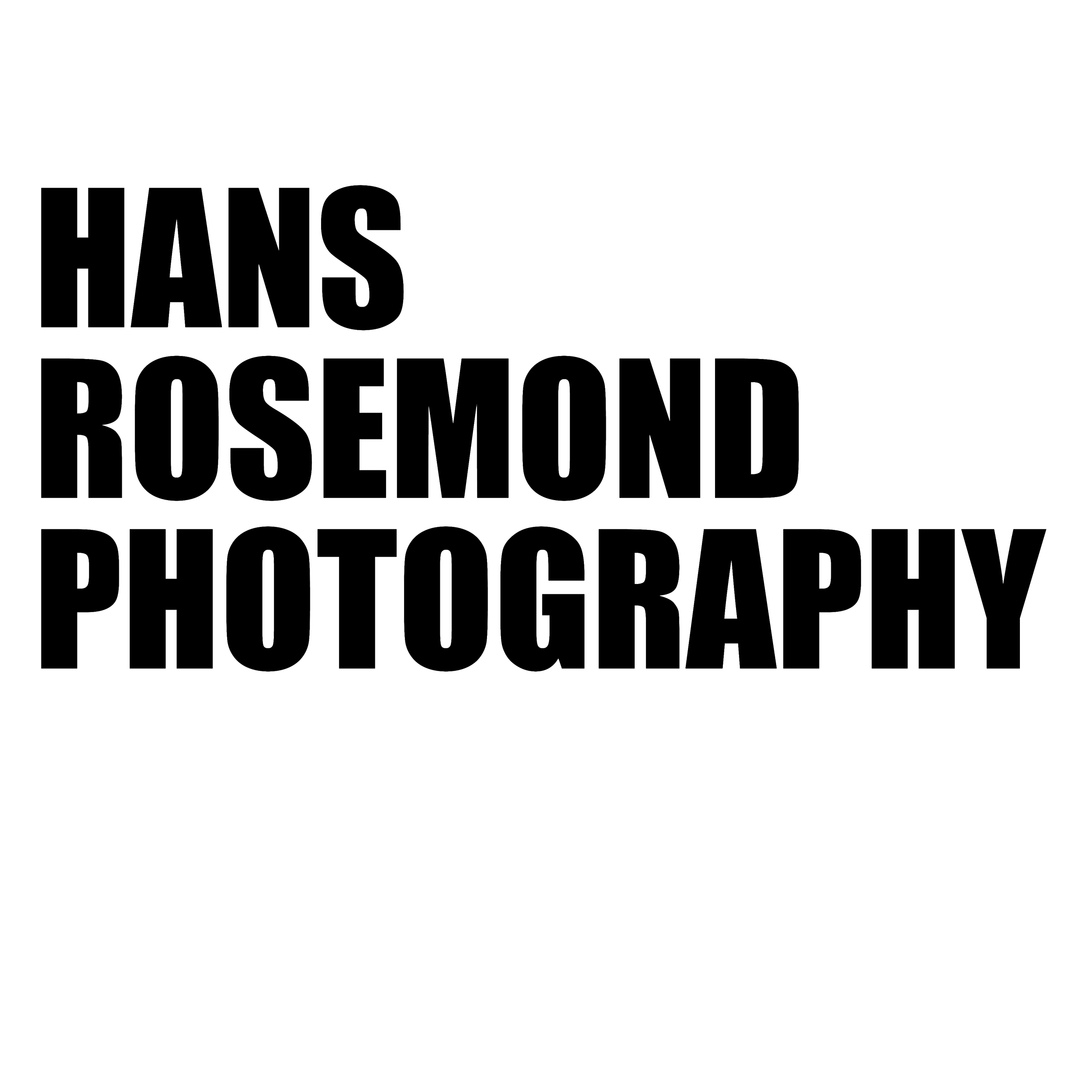 HANS ROSEMOND PHOTOGRAPHY