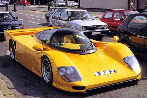 VIN: Dauer 962 LM Sport chassis GT001 — Supercar Nostalgia