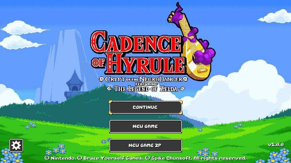 Review Cadence Of Hyrule Startmenu