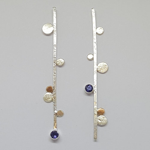 98fbb934a Sticks & Stones Earrings- Handmade Silver ...