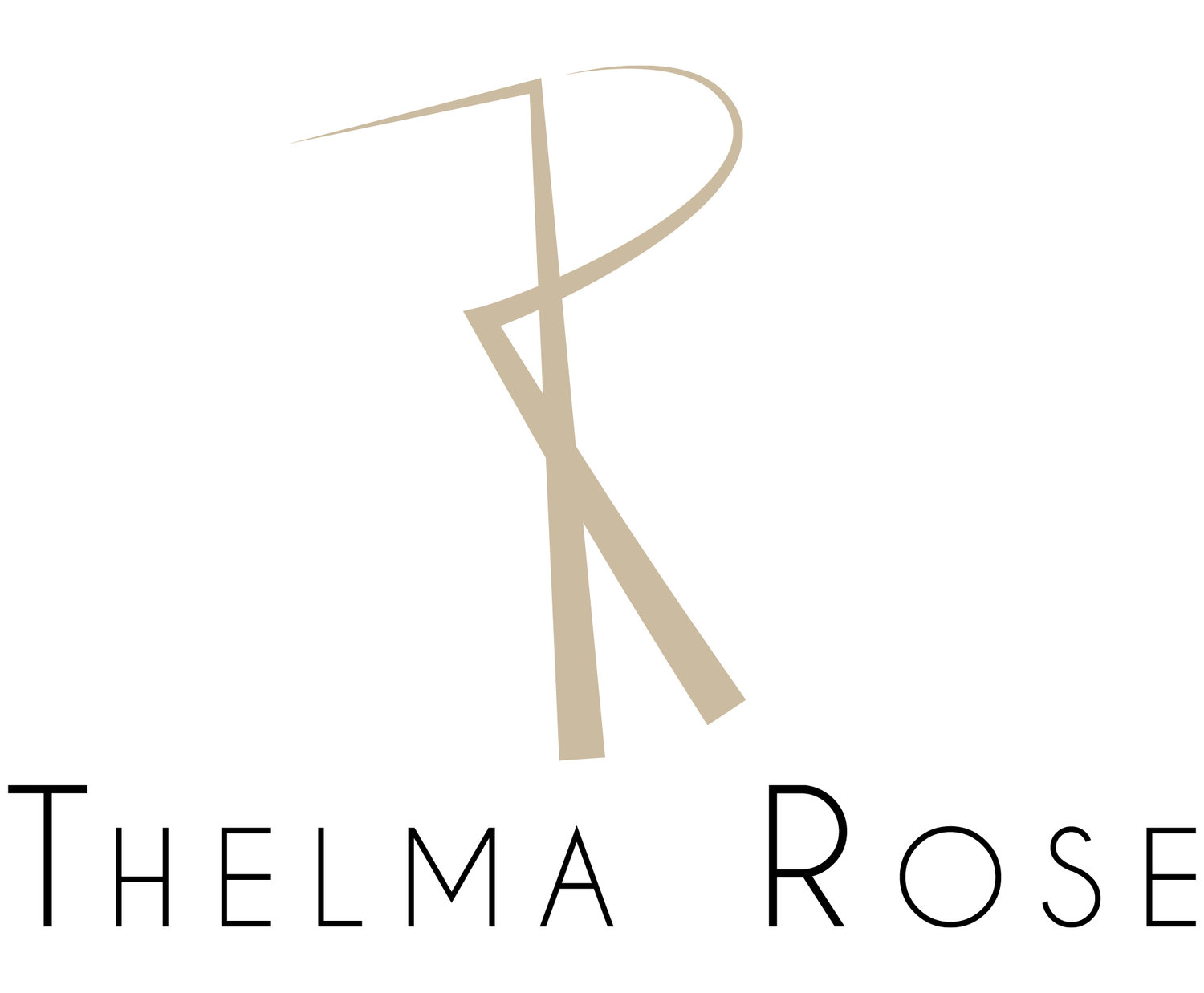 Thelma rose, slow fashion made in France