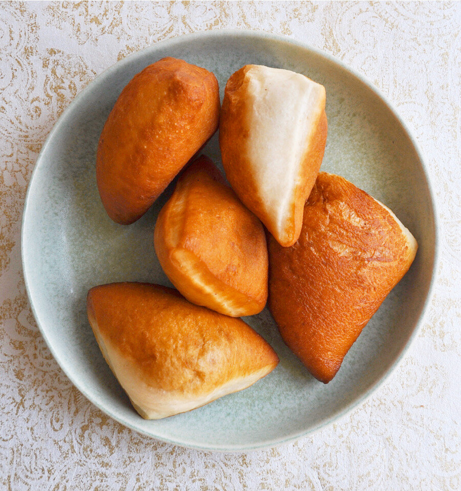 Mandazi Zanzibari Coconut Cardamom Donuts Dine With Dina
