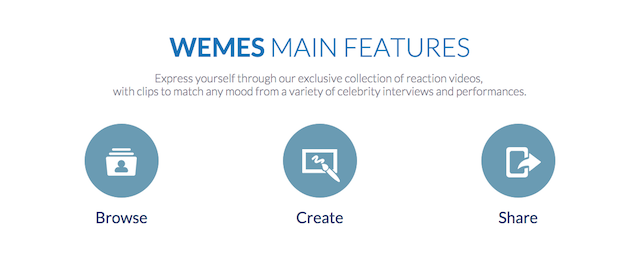 WEMES app - How it Works