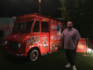 Mister Cartoon and his iconic ice cream truck!