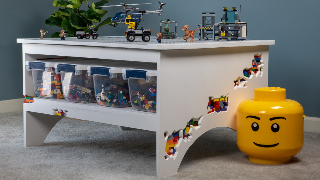 Diy Lego Table Youcanmakethistoo