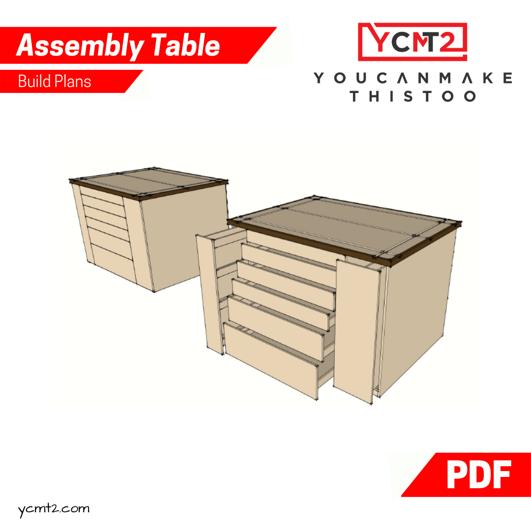 Assembly Table Plans Youcanmakethistoo