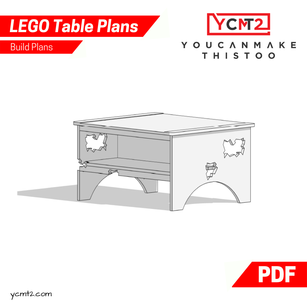 Lego Table Plans Youcanmakethistoo