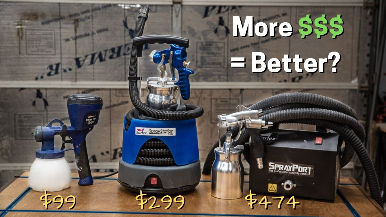 Find The HVLP Sprayer For You — YouCanMakeThisToo